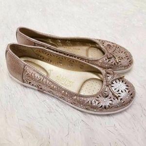 Reaction Row-ing 2 Slip On Shoes Rose Gold